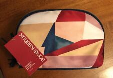 Sonia Kashuk Rounded Double-Zip Clutch in Geometric-NWT-$17 Retail-Free Shipping