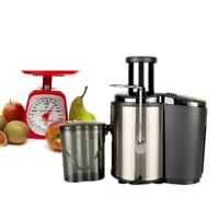 800W 600ML Electric Fruit Veg Juicer Machine Vegetable Extractor Maker Blender