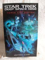 Force and Motion (Star Trek: Deep Space Nine) by Jeffrey Lang Paperback Book