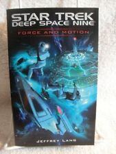 NEW Force and Motion (Star Trek: Deep Space Nine) by Jeffrey Lang [Misc. Supplie
