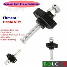 ATV Manual Cam Chain Tensioner Adjuster Black For Honda TRX 680 Rincon 2006-2011