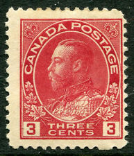 CANADA  # 109 Fine Light Hinged Issue - KING GEORGE V - S6217