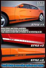 Dodge Charger Rocker Panel Side Stripes 2011 2012 2013 2014 Decals Pro Motor