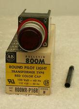 Allen Bradley 800MR-P16R Pilot Light Red Series B **NEW in Box**