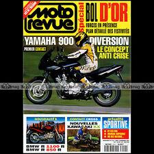 MOTO REVUE N°3151 BMW R 1100 R YAMAHA XJ 900 S DIVERSION SUPERBIKE BOL D'OR 1994