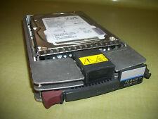 HP / COMPAQ...72.8 GB WIDE ULTRA3 SCSI ..10K RPM ...BD00726459C... DRIVE & CADDY