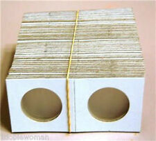 50 2x2  Cardboard Coin Holder, Mix or Match Sizes