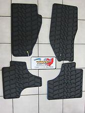 2011 & 2012 Jeep Liberty Rubber Slush Mats Floor Mats Set of 4 Mopar Slate Grey