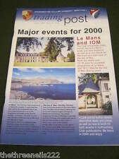PORSCHE GB TRADING POST - MAJOR EVENTS FOR 2000 - OCTOBER 1999