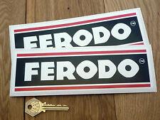 FERODO 8in RACING Classic MOTORCYCLE RALLYCAR STICKERS