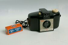 Kodak brownie 127 vintage toy camera with Agfa BW 127 film expired 1977 rare!