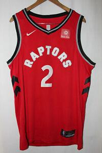 Nike Toronto Raptors Kahwi Leonard Swingman Icon Jersey RED 52 2XL