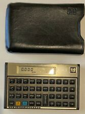 New ListingHp 12 C Financial Calculator, Good Condition, Mortgage Calculations, Orig. Case