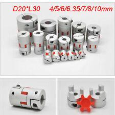 Flexible Shaft Coupler Stepper Motor Coupling D20l30 For Cnc Reprap 3d Printer