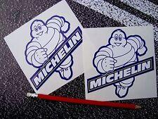 MICHELIN MAN TYRE STICKERS 12cm F1 LE MANS CLASSIC RACING MOTO GP SUPERBIKES