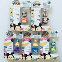 Lot Of 5 Different Disney Tsum Tsum SERIES 2-4 ( 15 Mini Figures ) TT-20
