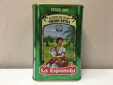 100% SPANISH EXTRA VIRGIN OLIVE OIL LA ESPAÑOLA Stunning Collectors Tin 24 Oz