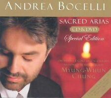 Sacred Arias 2 Disc Set Andrea Bocelli 2003 CD