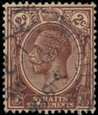 "STRAITS SETTLEMENTS 181 (SG220) - King George V ""1925 Brown"" (pf51819)"