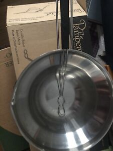 Pampered Chef Double Boiler w/Dipping Tool