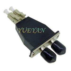 LC Male TO ST Female Duplex MM Muliti Mode Type Fiber Optic Adapter  Attenuators