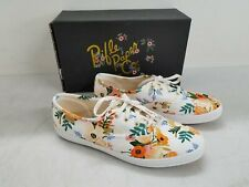 Keds Rifle Paper Co Womens Floral Fabric Sneakers Sz 6.5