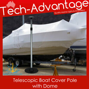 Boat Storage Cover Telescopic Adjustable POLE (76-137cm) Domed Top Protection