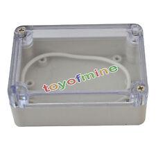 83x58x33mm couvercle en plastique transparent boîtier étanche boîte électrique