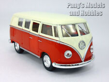 VW T1 (Type 2) Bus 1/32 Scale Diecast & Plastic Model by Kinsmart - Red