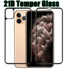 21D Front+Back+Lens Camera Screen Film Protector for iPhone 11 Pro Max Cover 11H