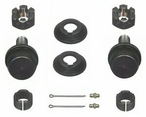 For Jeep CJ5 CJ7 Pair Set of 2 Front Upper Press-in Type Ball Joints Moog K8194T