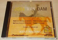 JOSE VAN DAM-RAVEL/IBERT/POULENC/FRANK MARTIN-CD 1992-KENT NAGANO