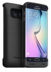 PowerBear 3500mAh Extended Battery Samsung Galaxy S6 Edge Black
