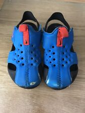 Nike Sunray Protect Size 7.5 Bright Blue And Black