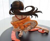 Anime Adesugata Five magic bullets Kimono Girl PVC Figure New No box 15cm