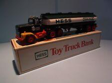 Hess Trucks: 1984 Hess FuelTankerToy TruckBank - (2 available)