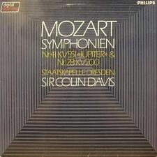 Mozart (vinilo Lp) Sinfonía Nr.41 - Philips - 6514 206-Países Bajos-en muy buena condición +/ex