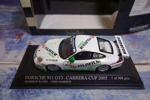 RAR: Porsche 911 GT3 Carrera Cup 2005 * FUJI * 1/ 996 pcs.- Minichamps 1:43, OVP