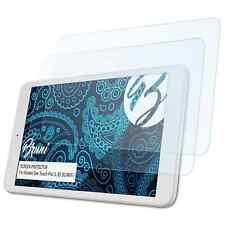 Bruni 2x Pellicola Protettiva per Alcatel One Touch Pixi 3 (8) 3G/WiFi