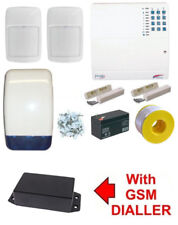 Scantronic 9448 Wired Burglar Alarm Kit PET FRIENDLY SMS Message GSM Dialler