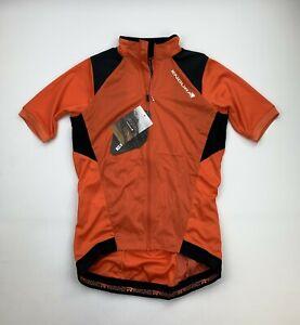Endura MTR Windproof Jersey Orange Size Men's Small New