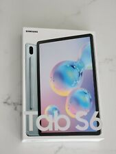 Samsung Galaxy Tab S6 128GB, Wi-Fi, 10.5 in - Cloud Blue + Book Cover
