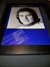 Gary Wright Star Of The 70s Rare Original Promo Poster Ad Framed! #2