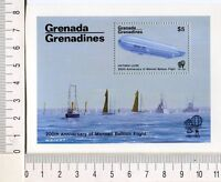 36728) Grenada Grenadines 1983 MNH 200 Years Aviation S/S