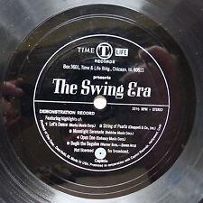 Disque souple Flexi Time Life The swing era Let's dance ...