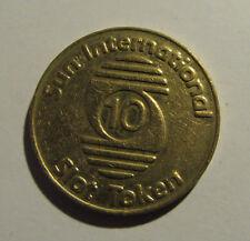 Sun International Slot Token (10) - 28 mm
