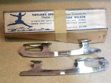 John Wilson Ice Skate Blades, Taylor's Special 9 1/2, Figure Skating, Sheffield