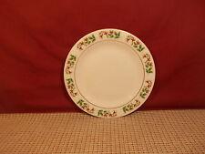 "Gibson Dinnerware Christmas Charm Salad Plate 7 5/8"""