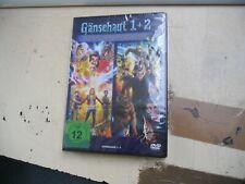 2 DVD--Gänsehaut  1 + 2   NEU/OVP