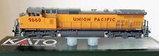 HO Scale KATO C44-9W 'Union Pacific' Road #9660 W/ Factory DCC Item #37-6633-DCC
